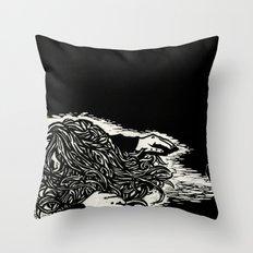 Poisoned Slumber Throw Pillow