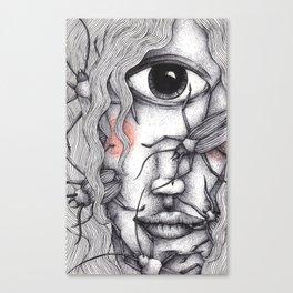 Cyclops Girl  Canvas Print