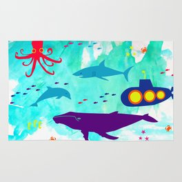 Under the Sea for C Rug