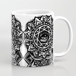 Eye of God Flower Coffee Mug