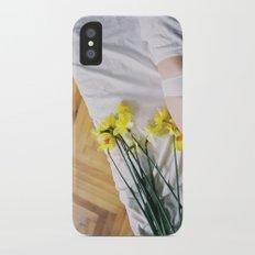 White Slim Case iPhone X