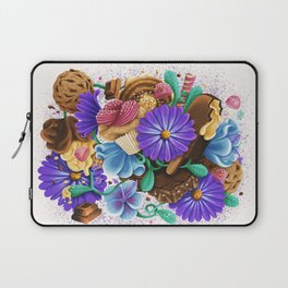 CANDY & FLOWERS Laptop Sleeve