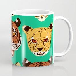 Big Cat Faces Coffee Mug