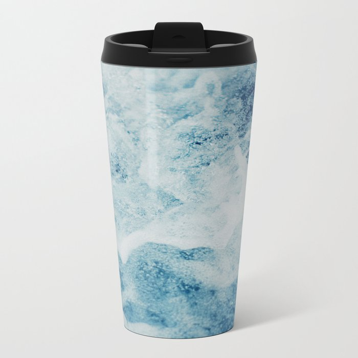 Sea Splash Metal Travel Mug