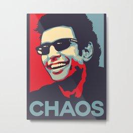 Ian Malcolm 'Chaos' Metal Print