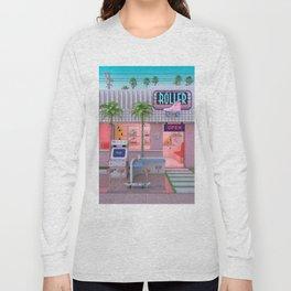 Roller Skate Nostalgia Long Sleeve T-shirt