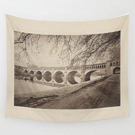 Pont canal de Beziers Les Travaux Publics de la France Wall Tapestry