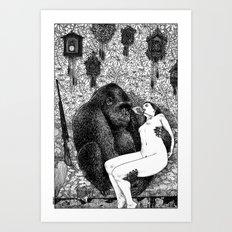 asc 686 - La pitié (Time is out of joint) Art Print