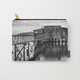 Big Red in Black and White Carry-All Pouch