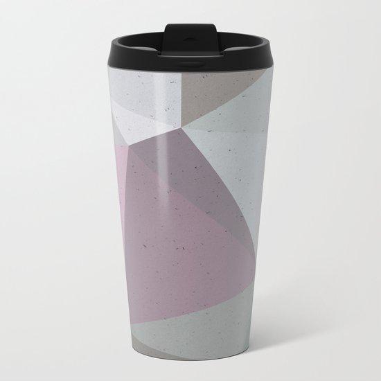 Urban Geometry #buyart #geometry Metal Travel Mug