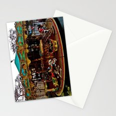 Merry Go Round Paree Stationery Cards