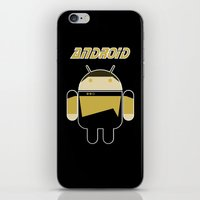 android iPhone & iPod Skins featuring Android by dextifire