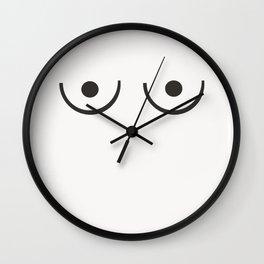 Ariadne - minimal art print, female, women, neutral art print, minimalist decor Wall Clock