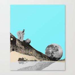 Silicon valley Canvas Print