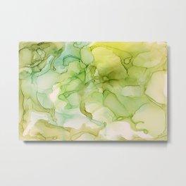 Key Lime Metal Print