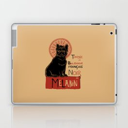 Le bouledogue français The Black Frenchie Laptop & iPad Skin