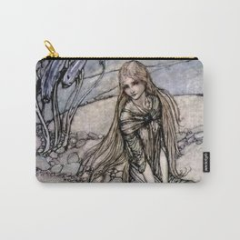 "Arthur Rackham Fairy Art from ""Undine"" Carry-All Pouch"