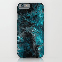 Abstract Marble Art iPhone Case