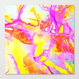 Rocky Shore at Sunrise Canvas Print