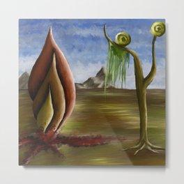 Snailscape Metal Print