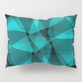 Minimal geometric background Pillow Sham