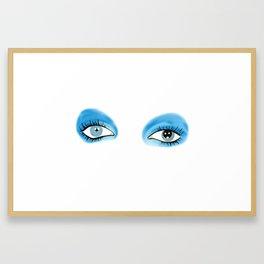 Life on Mars - Eyes Framed Art Print