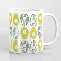 avocado Mugs featuring Avocado by curious creatures