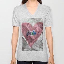 Divorce Valentine Unisex V-Neck