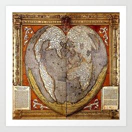 Heart of the World Art Print
