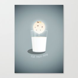Full cookie rising Canvas Print