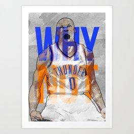 Russ! Art Print
