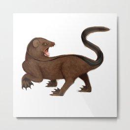 Mongoose Eel Metal Print