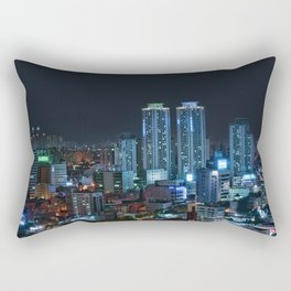 Daegu at Night Rectangular Pillow