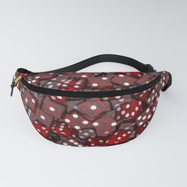 Red dice Fanny Pack