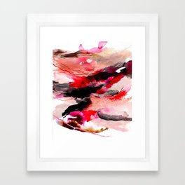 Day 63: Don't let aesthetics distract from true and invisible beauty. Framed Art Print