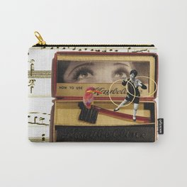 Charleston Hooper with the Gorgeous Eyes (and a kingfisher) Carry-All Pouch