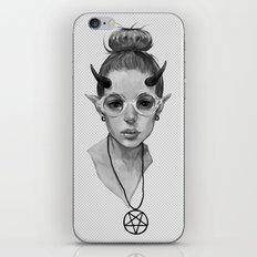 Monster Girl #3a iPhone & iPod Skin