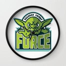 Dagobah Swamp Force Wall Clock