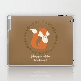 Renard roux // Red fox Laptop & iPad Skin