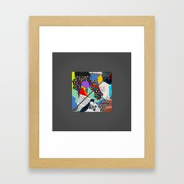 Square #1 Framed Art Print