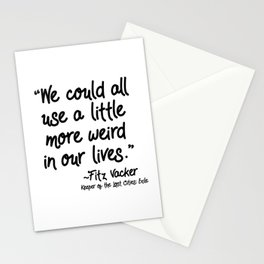 Fan-favorite Fitz Quote Stationery Cards