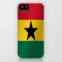 Flag of Ghana iPhone Case