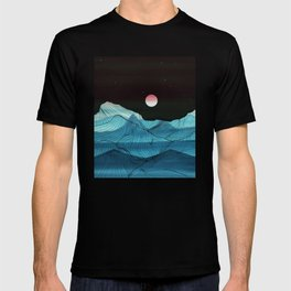 Lines in the mountains XV T-shirt