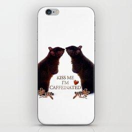 KISS ME iPhone Skin