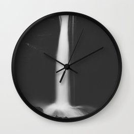 Hidden waterfall - Landscape and Nature Photography Wall Clock
