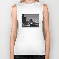 montreal Biker Tanks featuring Old Port Montreal by Christophe Chiozzi