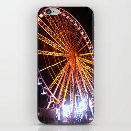Spinning around iPhone Skin
