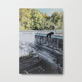 Somewhere Else Metal Print