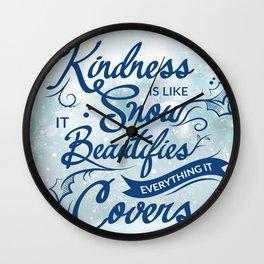 69 - Kindness Wall Clock