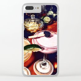 Craft Cocktails Clear iPhone Case